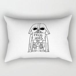 Darth Hugs Rectangular Pillow