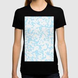 Spots - White and Light Blue T-shirt