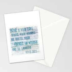Home of Love and Laughter Stationery Cards