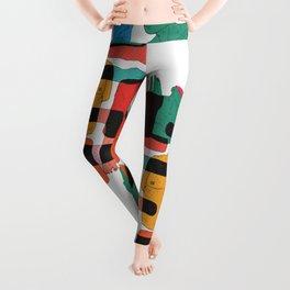 Color Body Patrs Leggings