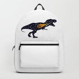 Dinosaur and meteorite strike #society6 #decor #buyart #artprint Backpack