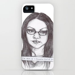 A Dishwasher Kind of Gal iPhone Case