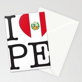 I Love Peru Stationery Cards