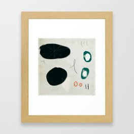 Four Forms with Lines Framed Art Print
