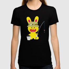 One Tooth Rabbit Fisherman T-shirt