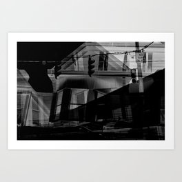 Sleepless Nights Art Print