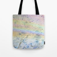 oil Tote Bags featuring Oil by Miss Meow