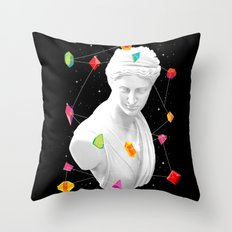 Geometric Gods II Throw Pillow