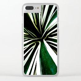 Sunburst Sansevieria Clear iPhone Case