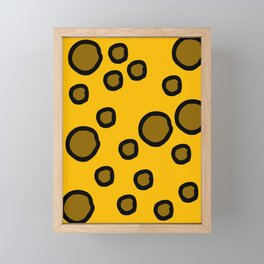 Holey Moley Framed Mini Art Print