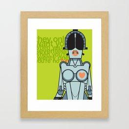 Ladytron Framed Art Print