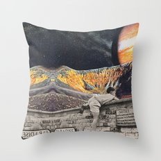 Entrar en el sueño Throw Pillow