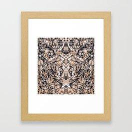 Reflecting Pollock Framed Art Print
