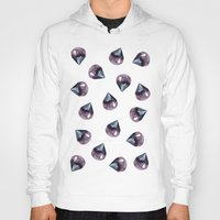 gem Hoodies featuring Gem Collage by Camille Welsh