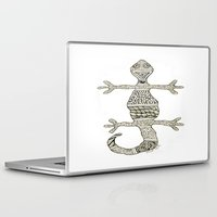 lizard Laptop & iPad Skins featuring Lizard by NazreenNizamRao