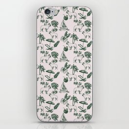 Tropical Dogs iPhone Skin