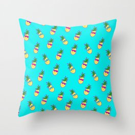 Party Pineapples!  Throw Pillow