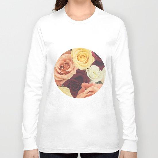 Vintage Roses II Long Sleeve T-shirt