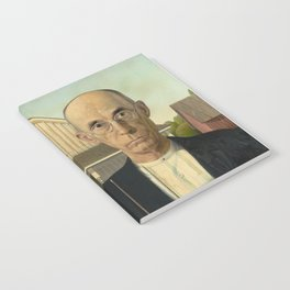 American Gothic by Grant Wood Notebook