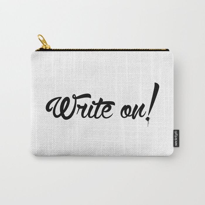 Write On! Carry-All Pouch