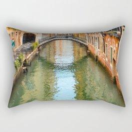 Italy Photography - The Beautiful Venice Canal Rectangular Pillow