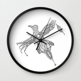 Nothing is just black or white Wall Clock