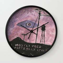 Night Wall Clock