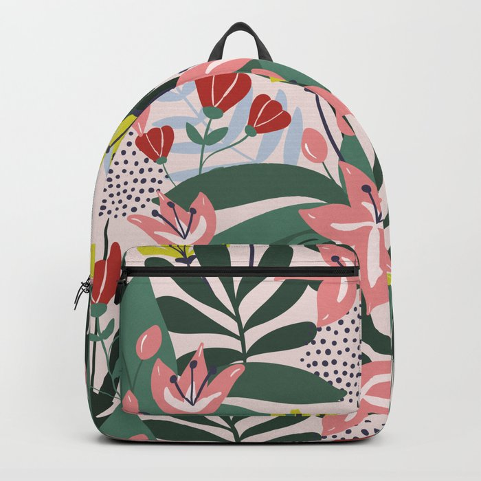 Lush Florals Backpack