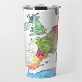 Pre-Roman Europe and North Africa Travel Mug