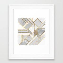 Gold City Framed Art Print