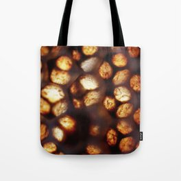 Nature's Stained Glass - Honeycomb Tote Bag
