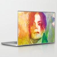 michael scott Laptop & iPad Skins featuring Michael by Aurora Wienhold