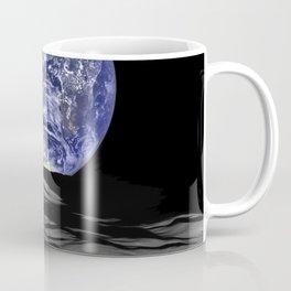 Earth from the moon Coffee Mug