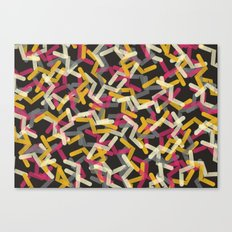 Straw Pattern Canvas Print