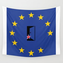 Brexit Flag Wall Tapestry