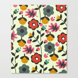 Floral sweetness Canvas Print
