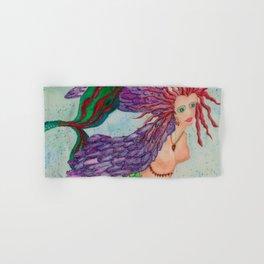 Electra Mermaid Hand & Bath Towel