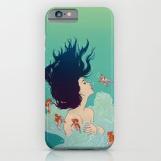 Underwater Lady iPhone 6s Slim Case