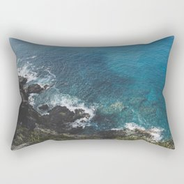 Blue Gem of Hawaii Rectangular Pillow
