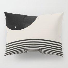 Woodblock Art, Mid Century illustration Pillow Sham