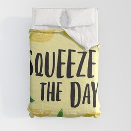 Squeeze the Day Pattern Comforters