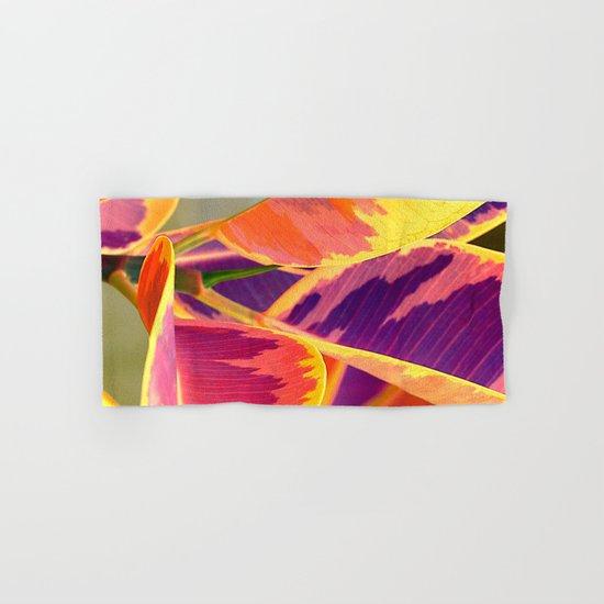 Tropical abstract(6). Hand & Bath Towel