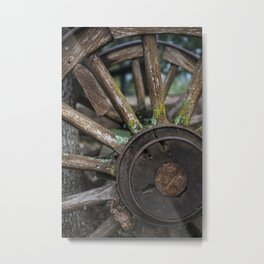 Aged and Loved Metal Print