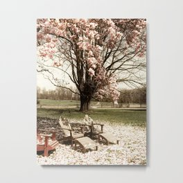 A Spring place to relax Metal Print