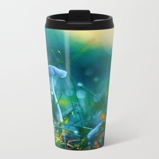 Emerging to Ocean Metal Travel Mug