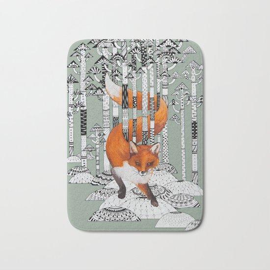 Fox Forest Bath Mat