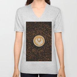 coffee #society6 #decor #buyart Unisex V-Neck
