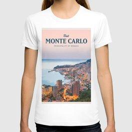 Visit Monte Carlo T-shirt