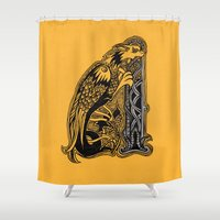celtic Shower Curtains featuring celtic by Julia Menshikova
