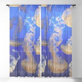 Sea Nettles Sheer Curtain